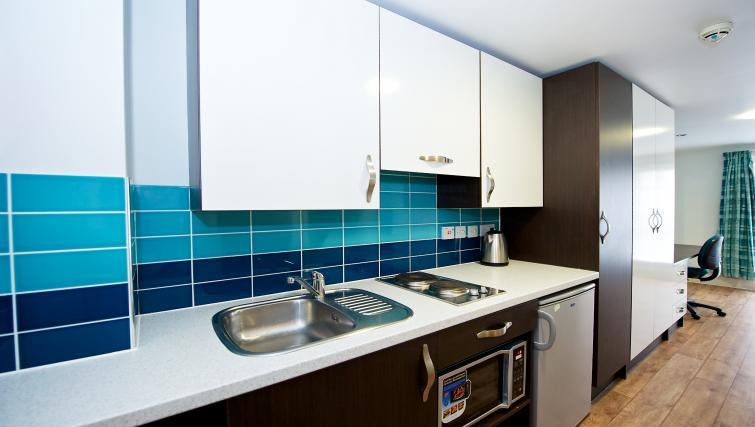 Kitchen at the CityLiveIn Summer Apartments