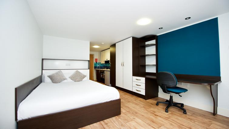 Bedroom at the CityLiveIn Summer Apartments