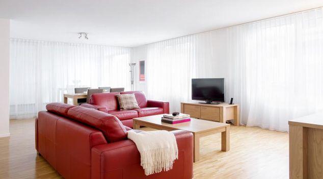 Living room at Nest Voltastrasse Apartment