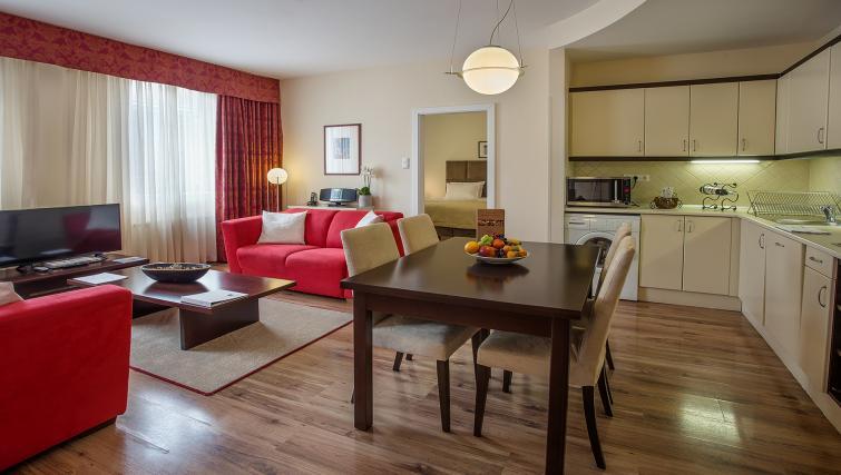 Ambassador Suite Living Area at the Mamaison Residence Izabella