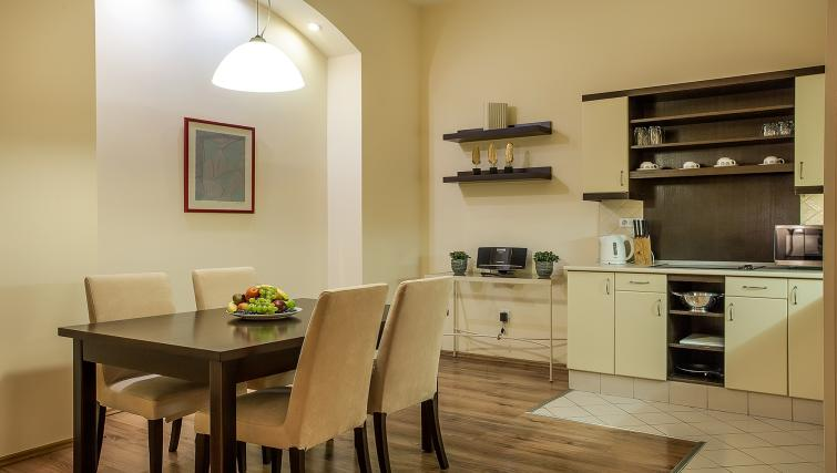 Dining area at the Mamaison Residence Izabella