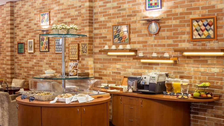 Breakfast buffet area at the Mamaison Residence Izabella