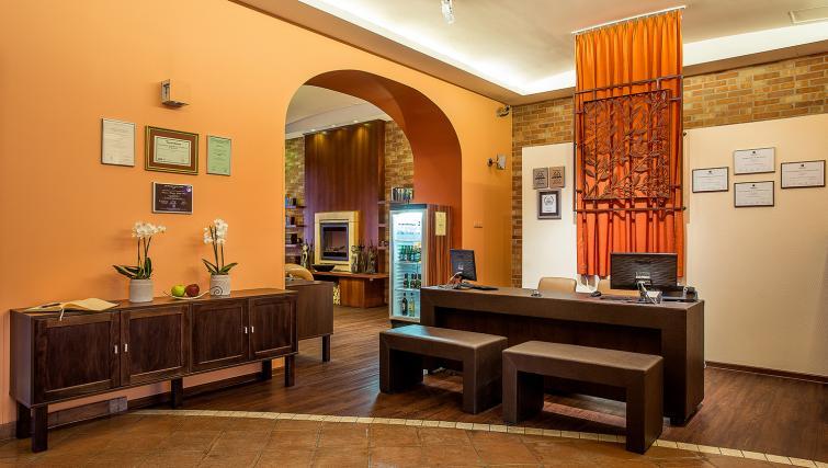 Reception at the Mamaison Residence Izabella