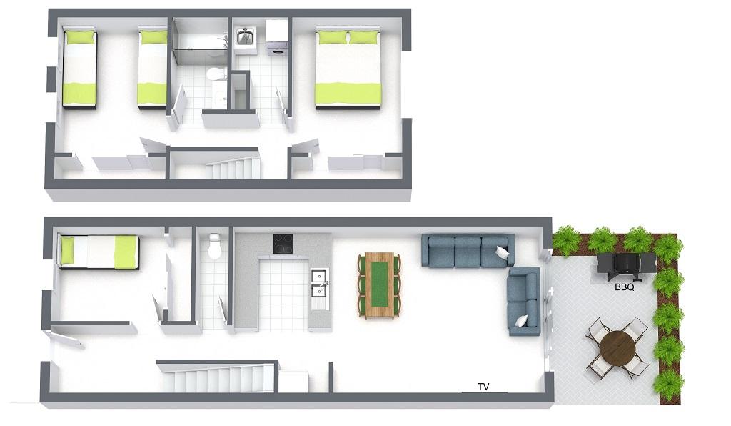 Floorplan at Melrose Terrace