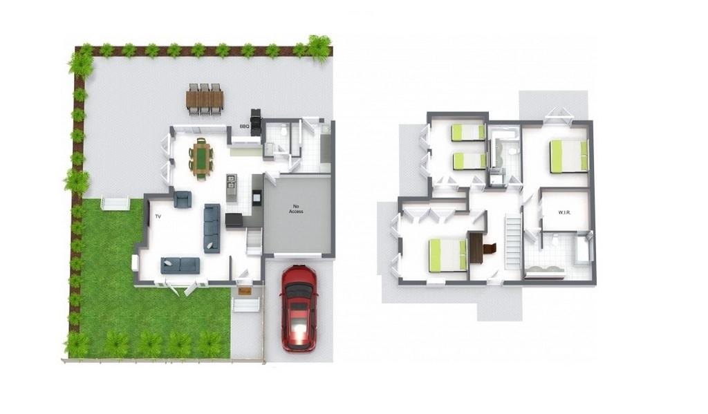 Floorplan at Maple on Kent Apartment