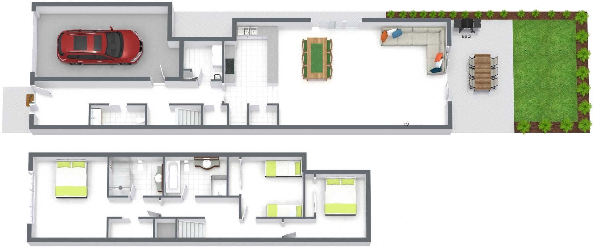Floorplan at Caulfield Central Apartment