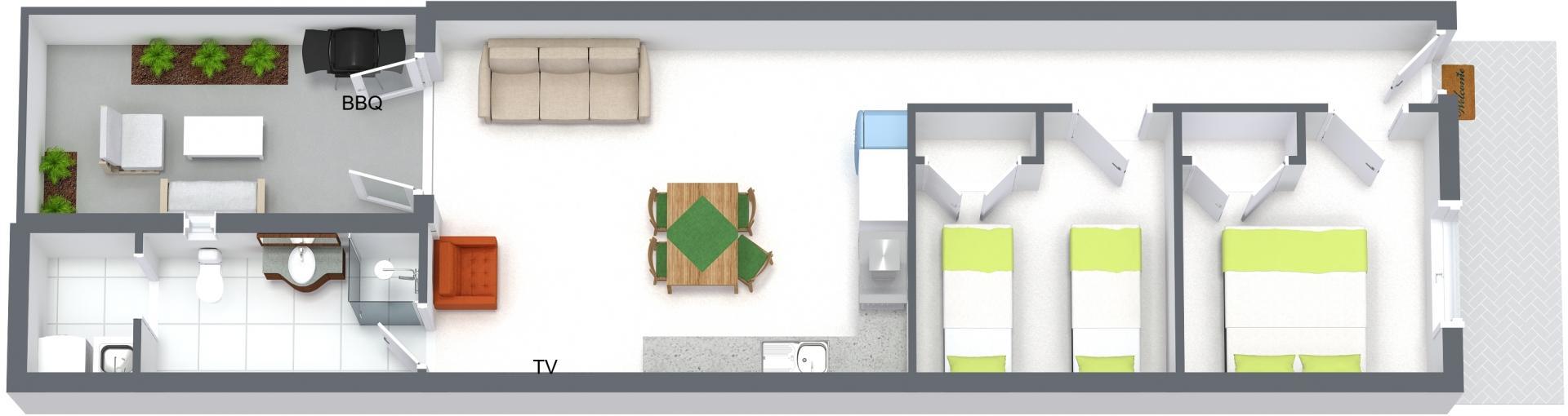 Floorplan at Carlton Terrace