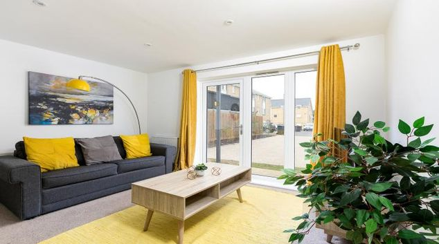 Lounge at Hertford Serviced Apartments