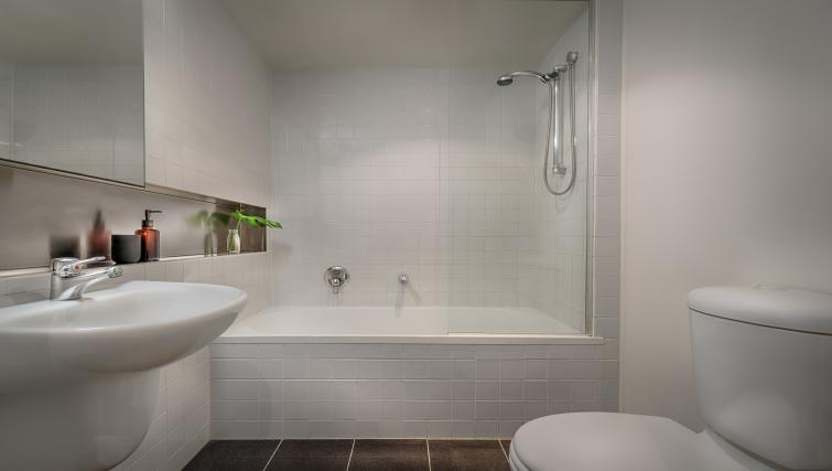 Bathroom at Little Bourke Apartments