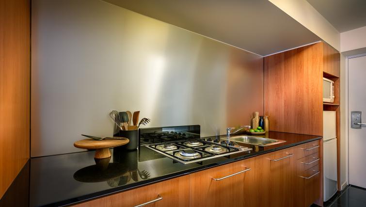 Kitchen at Little Bourke Apartments
