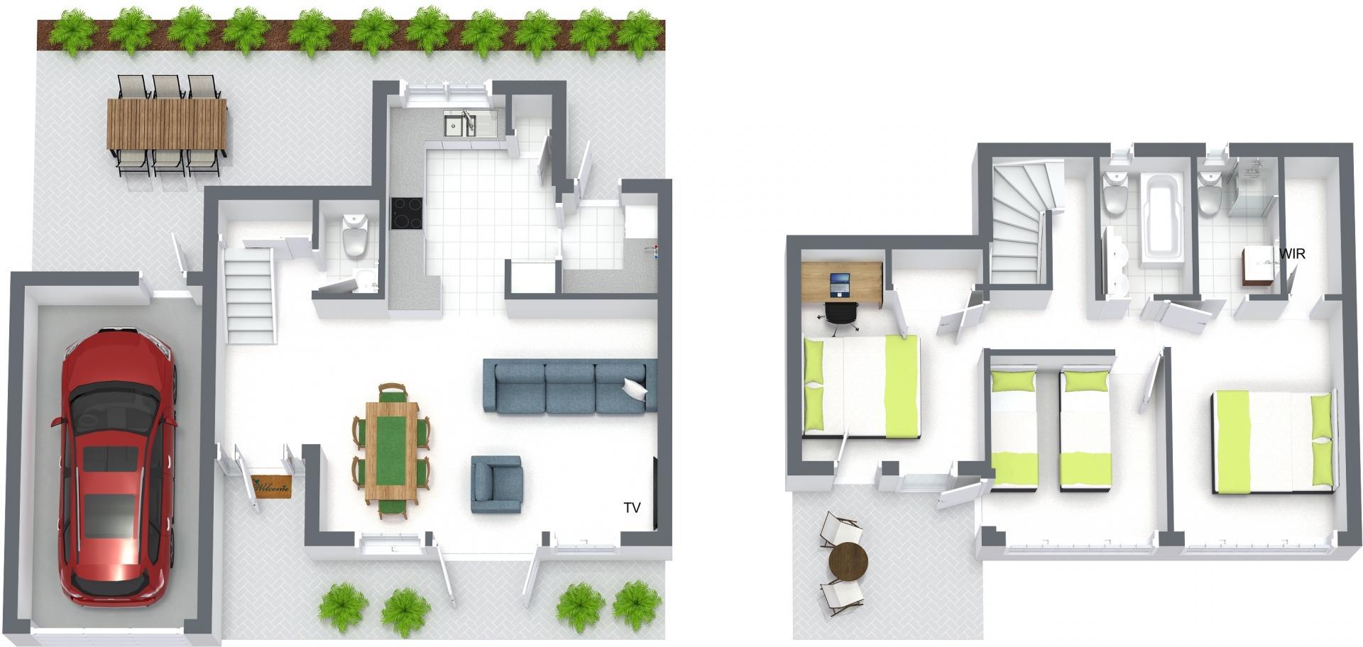 Floorplan at Brighton Abode