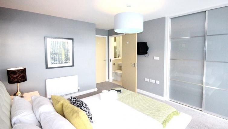Bedroom at Cotels The Hub Apartments