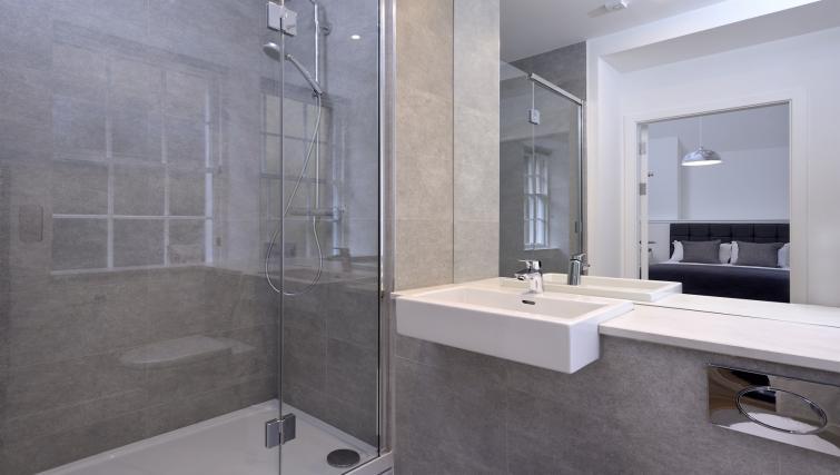 Sleek bathroom Canning Street Lane Apartments