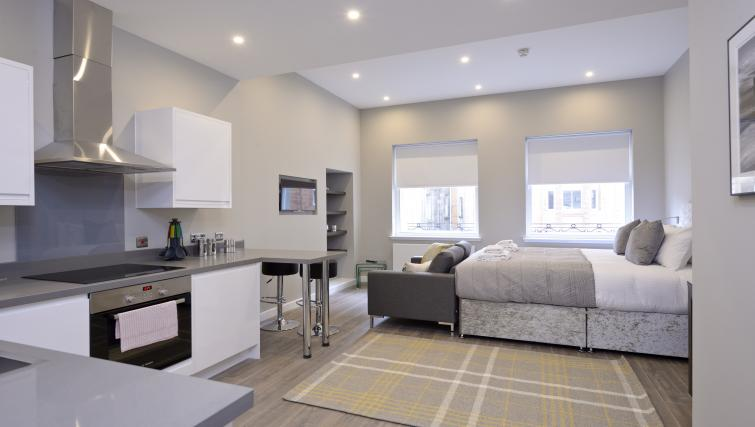 Furnishings at the Nelson Mandela Place Apartments