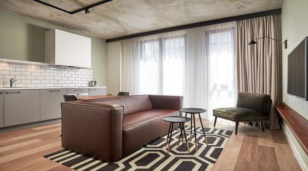 Living room at Corendon Village Hotel Amsterdam
