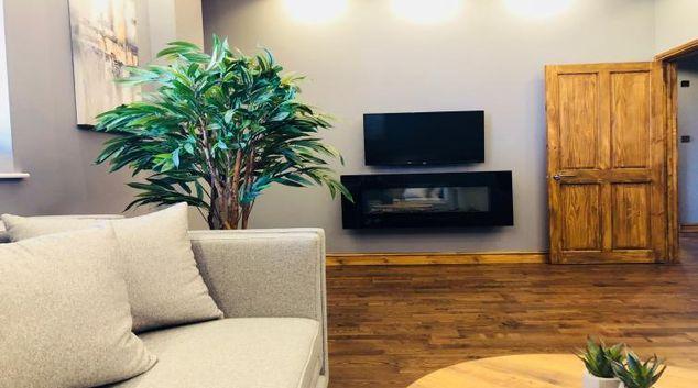Living area at South Fredrick Glasgow City Centre Apartment