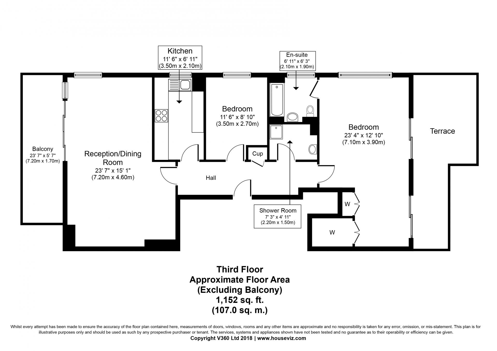 Floor plans at the Hyde Park Gate Apartments