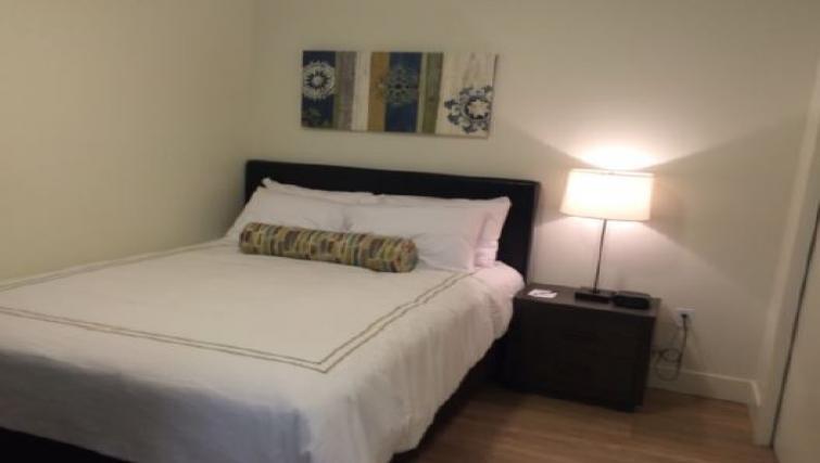Bedroom at Juxt Apartments