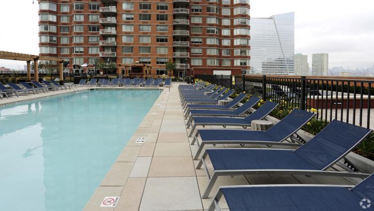 Pool at the NCH Marbella Apartments