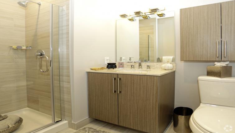 Bathroom at the NCH Marbella Apartments