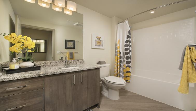 Bathroom at the Broadstone Lexington Apartments