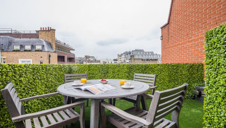 Terrace at the Mayfair Class Apartment
