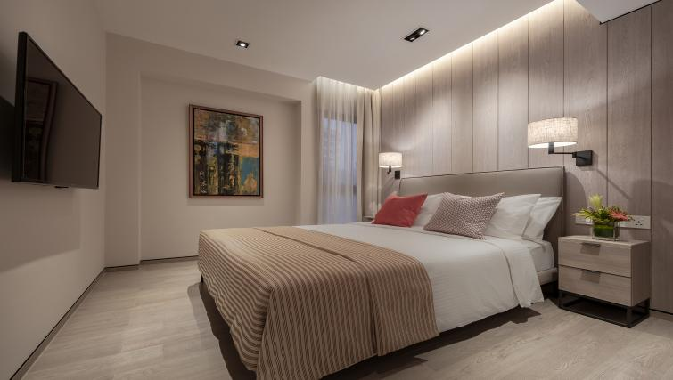 Bed at Le Grove Serviced Residences, Singapore