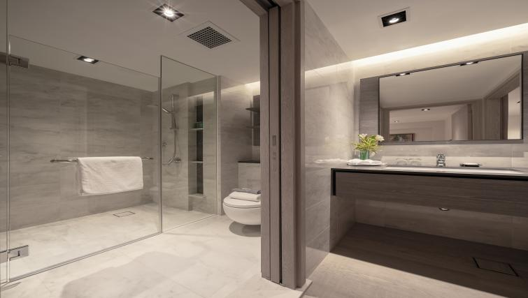 Bathroom at Le Grove Serviced Residences, Singapore