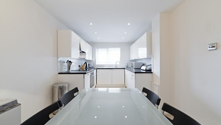 Kitchen at Brooklands Court Apartments