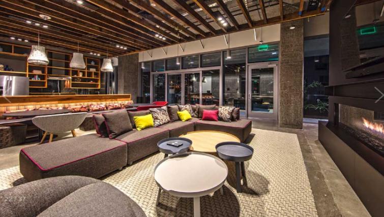 Lounge at the AMLI Arc Apartments