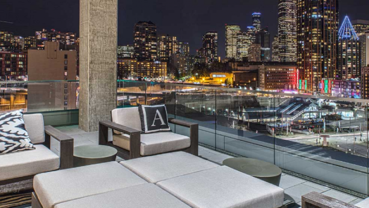 Terrace at the AMLI Arc Apartments