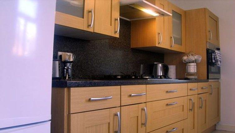 Kitchen in 10 King Edward Road
