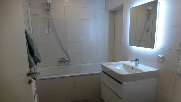 Bathroom at Westendplatz Apartment