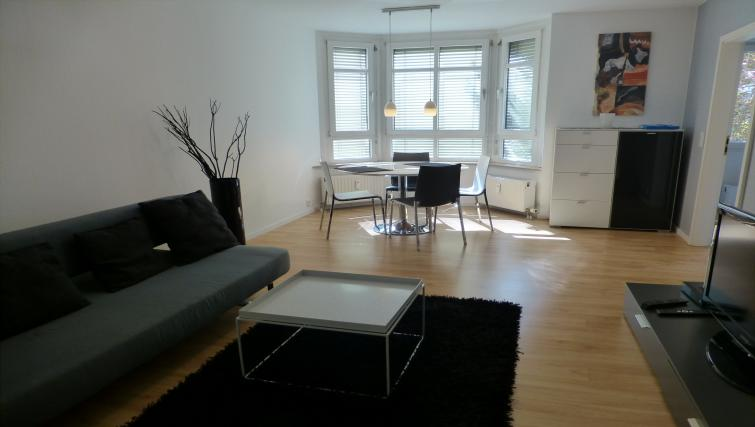 Living room at Westendplatz Apartment