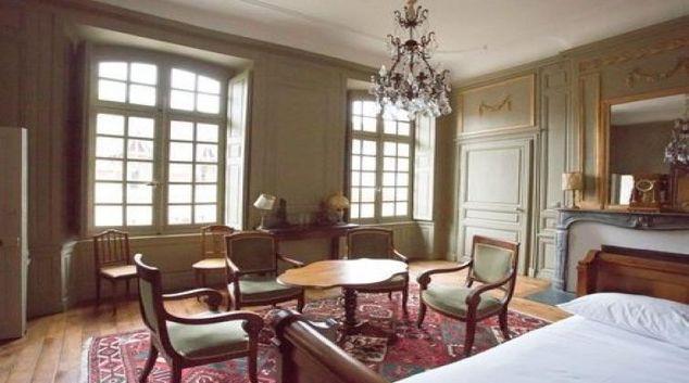 Living room at the Hôtel de Panette Apartments
