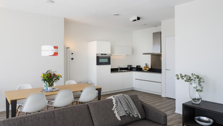 Kitchen at Gershwin Serviced Apartments, Amsterdam