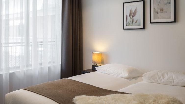 Bedroom at Gershwin Serviced Apartments, Amsterdam