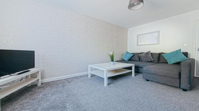 Lounge at the Sutton Vale Serviced Apartment