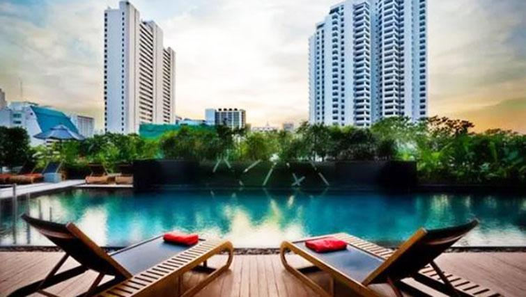 Pool at Fraser Suites Sukhumvit Bangkok