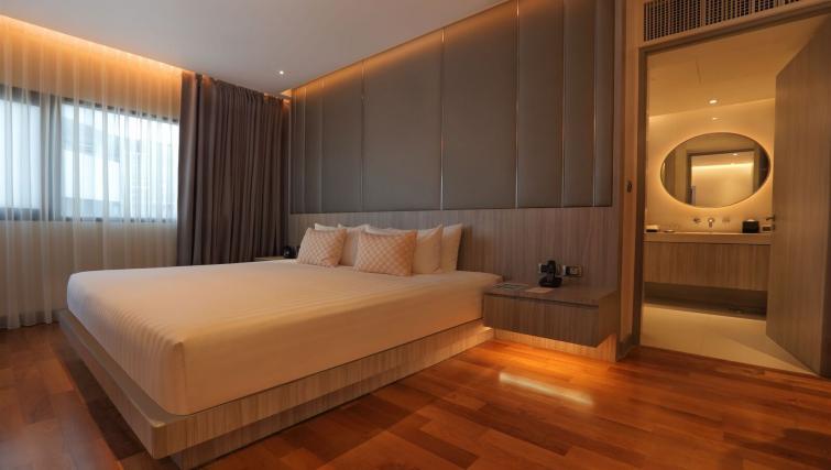 Bedroom at Fraser Suites Sukhumvit Bangkok