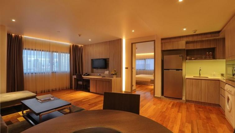 Living room Fraser Suites Sukhumvit Bangkok