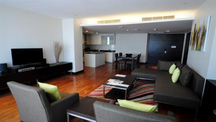 Open-plan at Fraser Suites Sukhumvit Bangkok