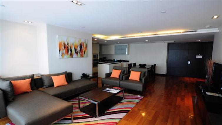 Sofas at Fraser Suites Sukhumvit Bangkok
