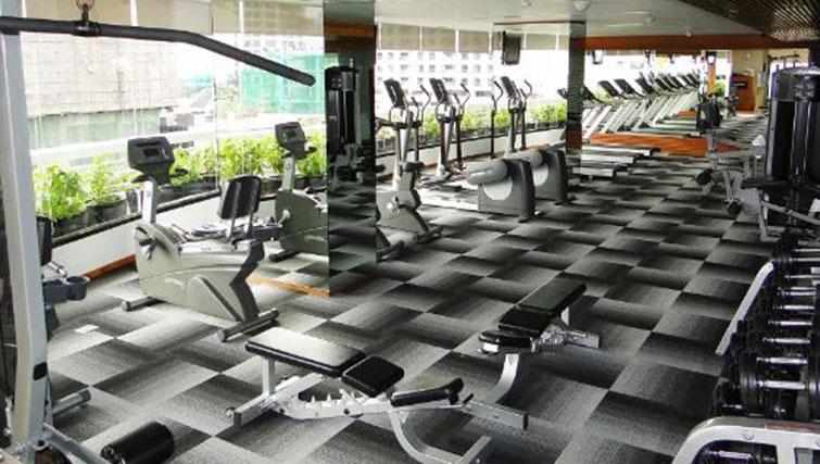 Gym at Fraser Suites Sukhumvit Bangkok