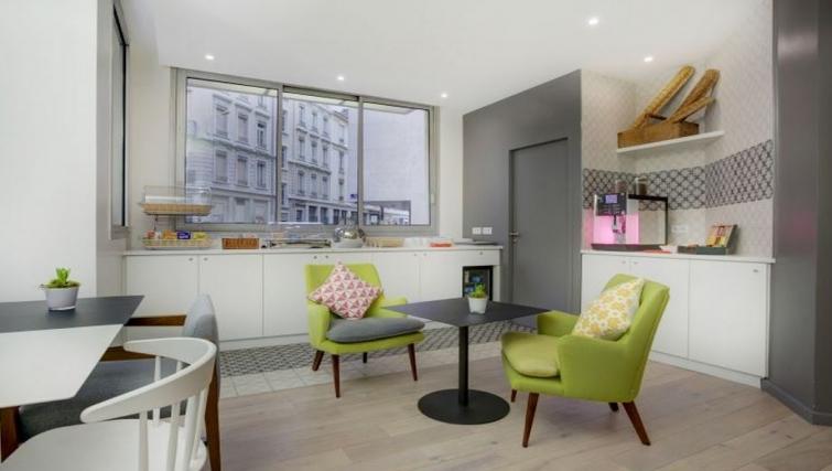 Dining area in Citadines Part-Dieu Apartments