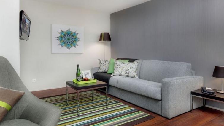 Living area in Citadines Part-Dieu Apartments