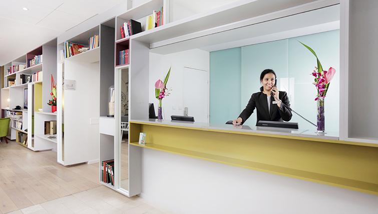 Reception area at Citadines Part-Dieu Apartments