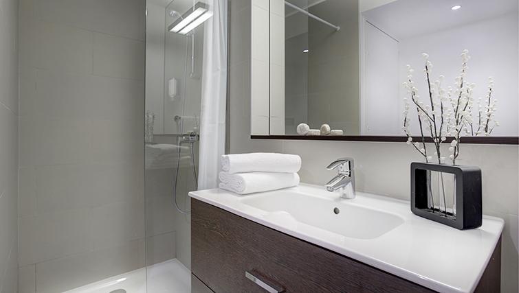 Bathroom at Citadines Part-Dieu Apartments