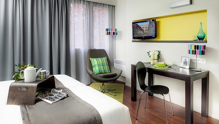 Bedroom at Citadines Part-Dieu Apartments