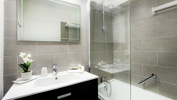 Bathroom in Citadines Part-Dieu Apartments